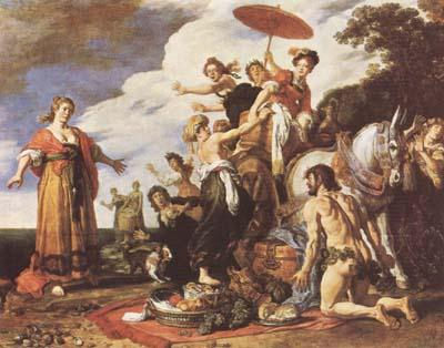 Peter Paul Rubens Odysseus and Nausicaa (mk08) oil painting image