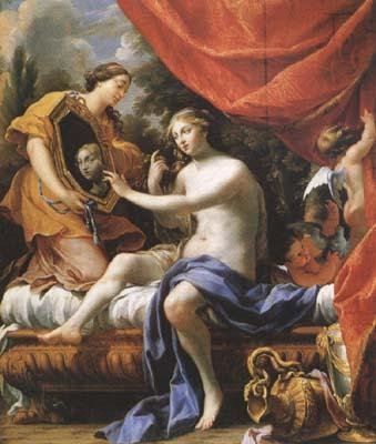 Simon Vouet The Toilet of Venus (mk08) oil painting image