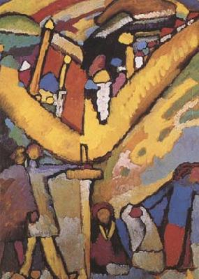 Wassily Kandinsky Study for Inprovisation 8 (mk09) oil painting image