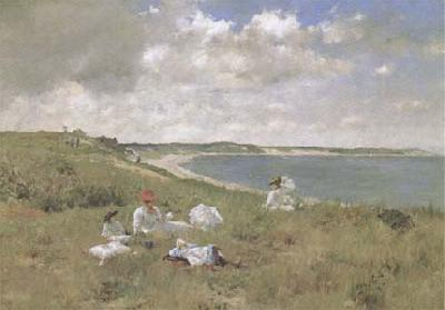 William Merrit Chase Leisure (mk09) oil painting image