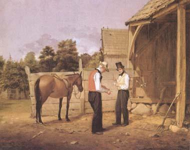 William Sidney Mount The Horse Dealers (mk09) oil painting image