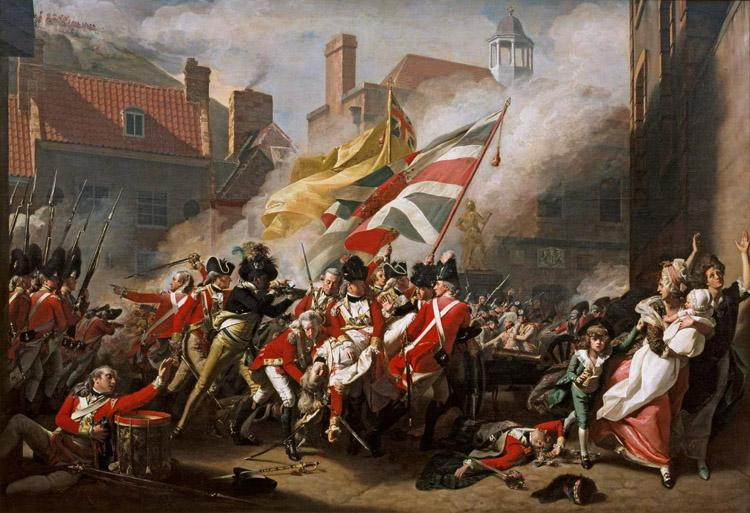 COPLEY, John Singleton The Death of Major Peirson (mk08)