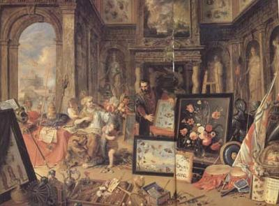 Jan Van Kessel Europe (centre panel) (mk14)