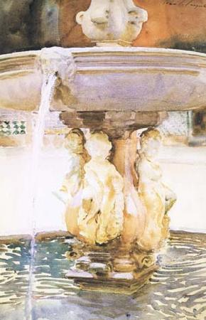 John Singer Sargent Spanish Fountain (mk18) oil painting image