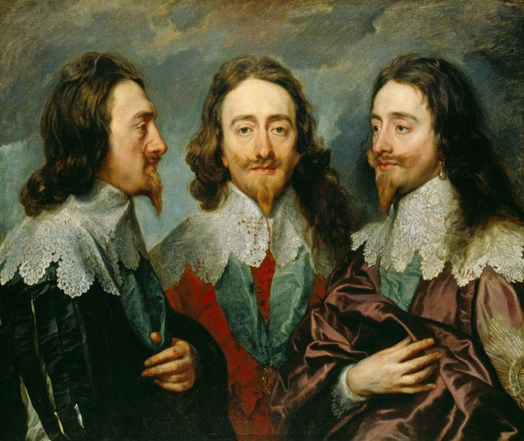 Anthony Van Dyck Charles I in Three Positions (mk25)