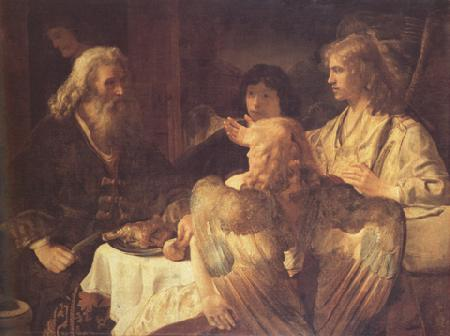 Jan victors Abraham and the three Angels (mk33) oil painting image
