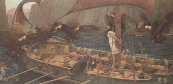 John William Waterhouse Ulysses and the Sirens (mk41) oil painting image