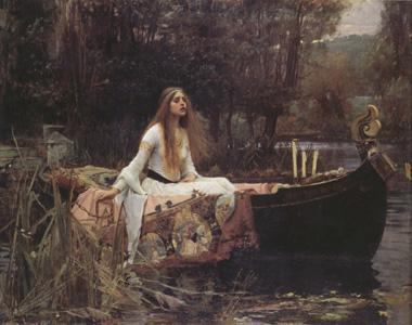 John William Waterhouse The Lady of Shalott (nn03)