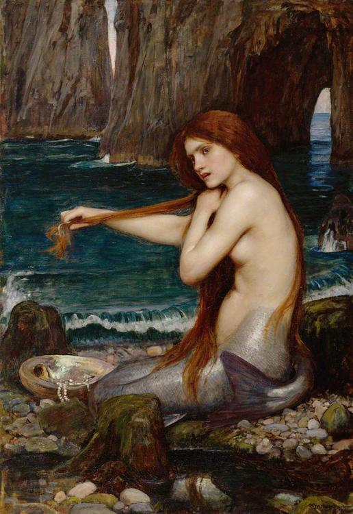 John William Waterhouse A Meraid (mk41) oil painting image