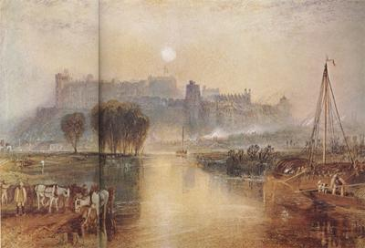 Joseph Mallord William Turner Windsor Castle,Berkshire (mk31) oil painting image