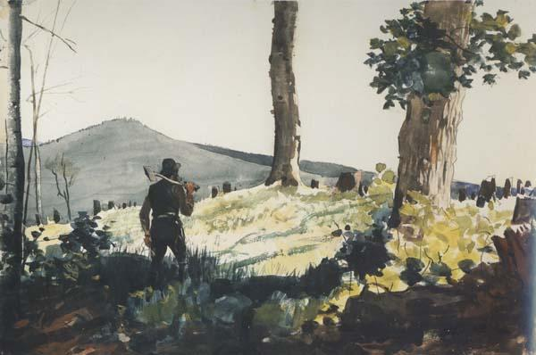 Winslow Homer The Pioneer (mk44) oil painting image
