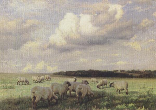 wright barker Upland Pastures (mk37) oil painting image