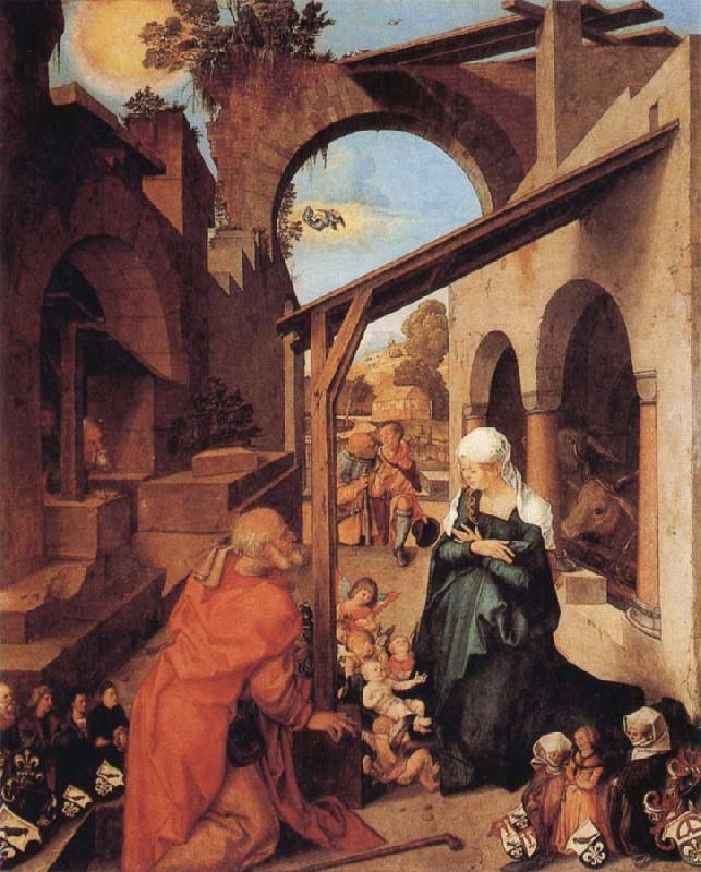 Albrecht Durer The Nativity oil painting image