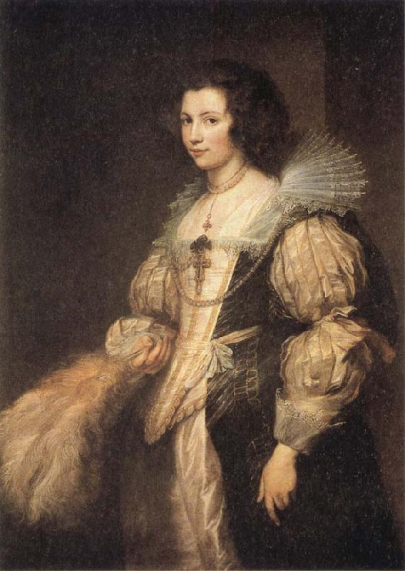 Anthony Van Dyck Portrait of Maria Louisa de Tassis