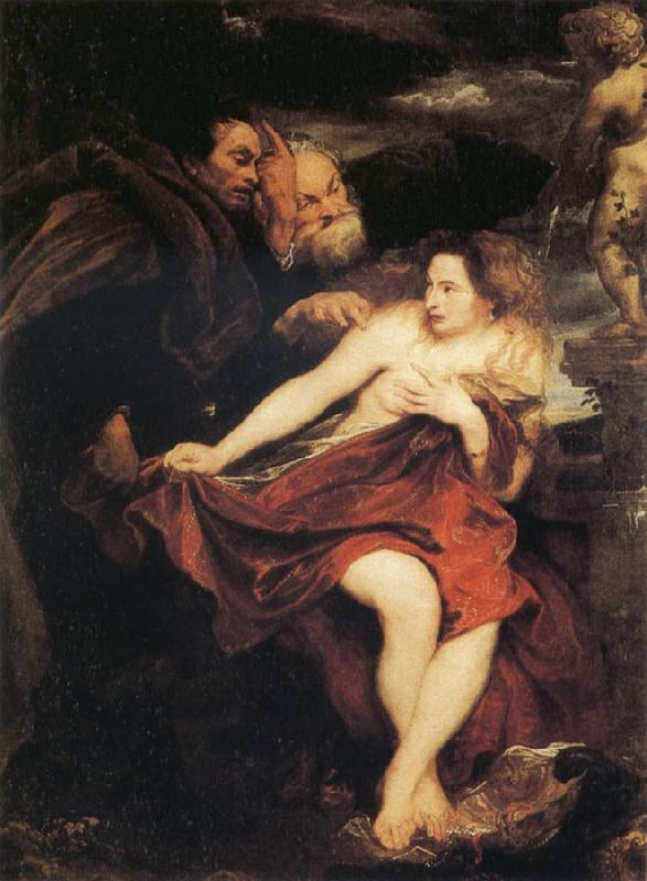 Anthony Van Dyck Susanna and  the Elders