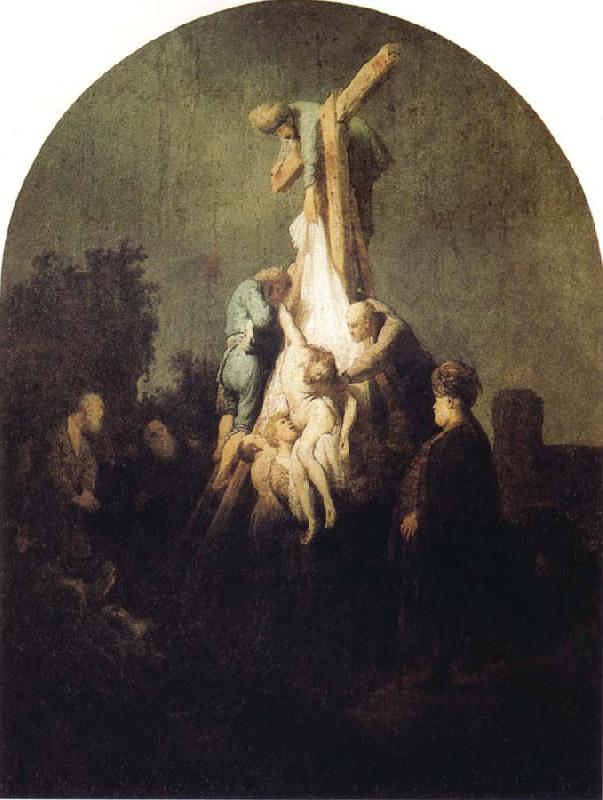 REMBRANDT Harmenszoon van Rijn The Descent from the Cross
